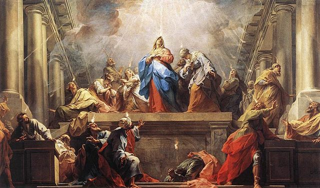 Image of  Jean II Restout - Pentecôte - The Day of Pentecost